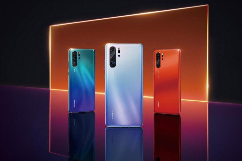 Huawei P30 (Foto: evLeaks/Twitter)