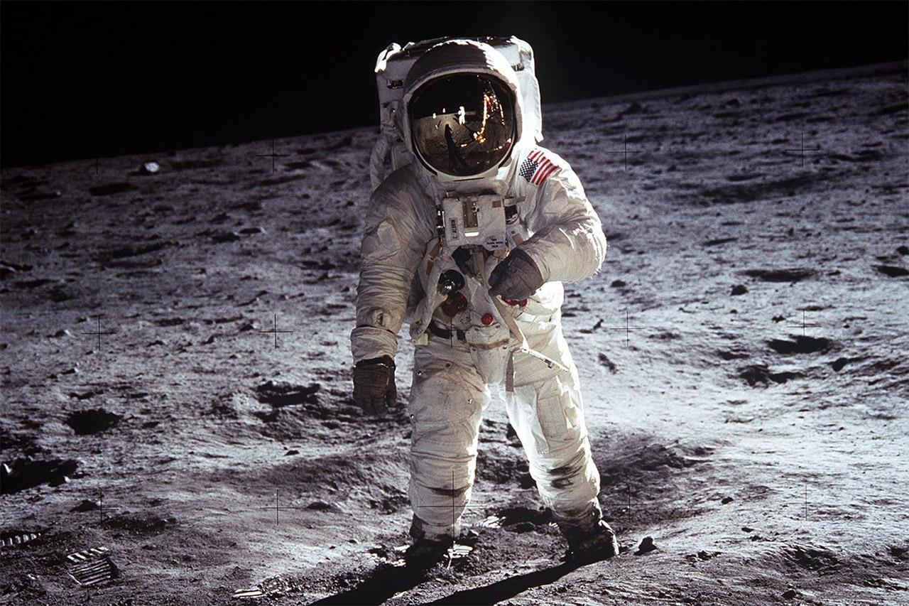 Astronaut, ilustracija