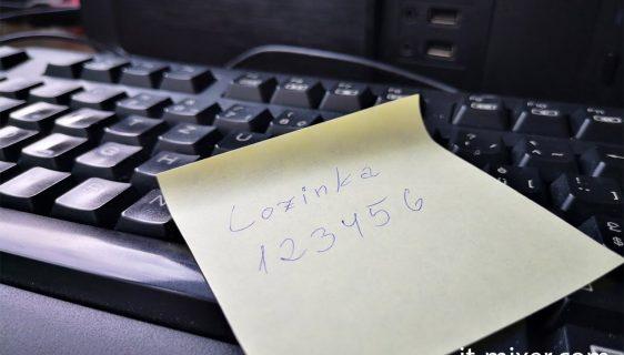 Lozinka 123456 (foto: it-mixer)