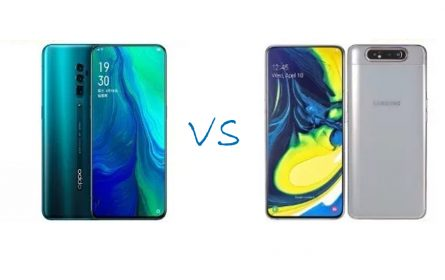 Oppo Reno 10x zoom vs Samsung Galaxy A80