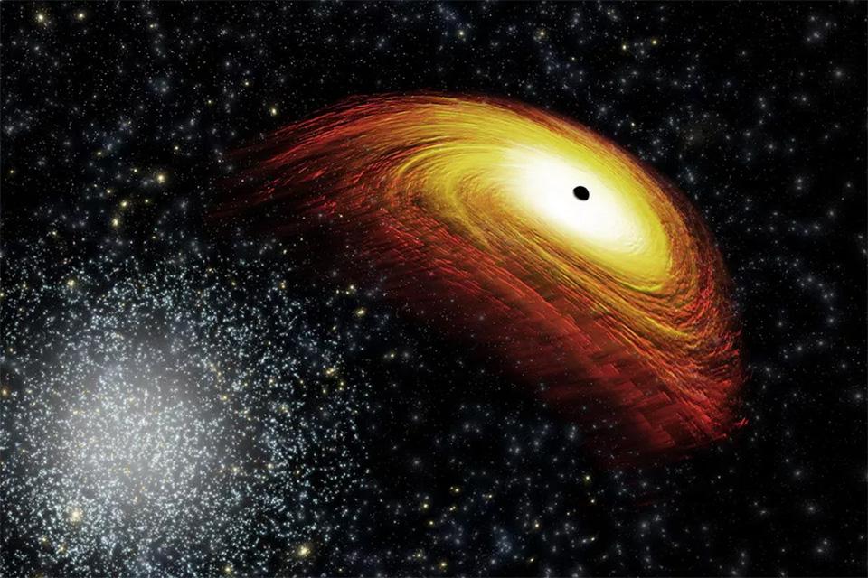 Fotografija crne rupe