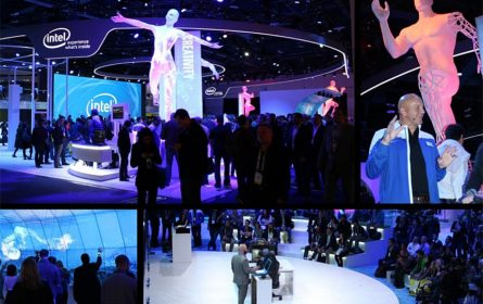 Intel Consumer Electronics Show - projekat Atena