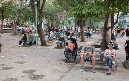 Kuba - slobone WiFi zone