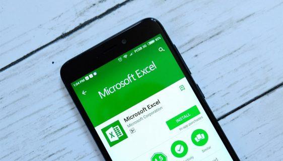 Mobilna verzija MS Excel, ubacite tabelu putem kamere