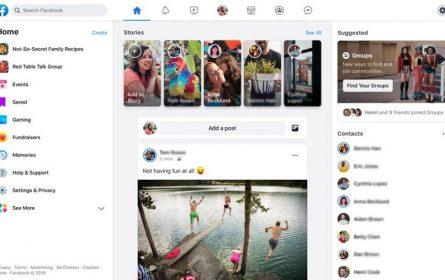 Facebook izgled - uvodi velike promjene