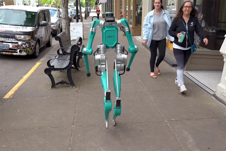 Agility Robotics predstavio robota za dostavu (Foto: Agility Robotics / YouTube screenshot)