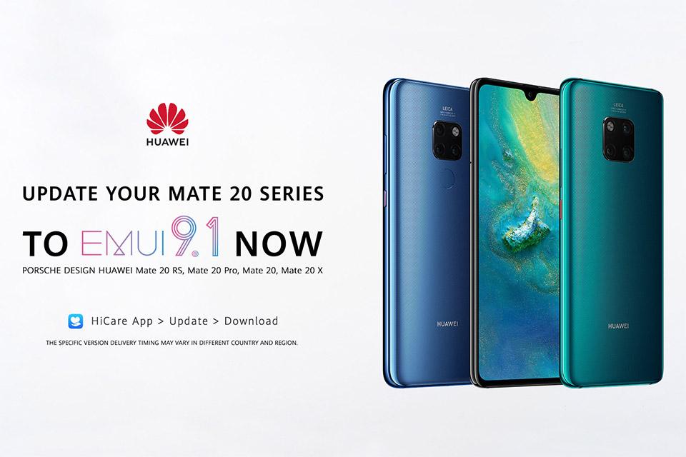 Huawei Mate 20 serija dobila nadogradnju na EMUI 9.1