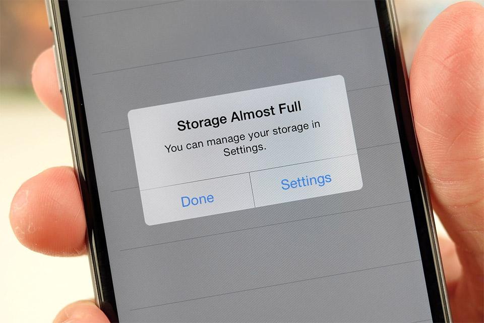 Iphone skladišni prostor
