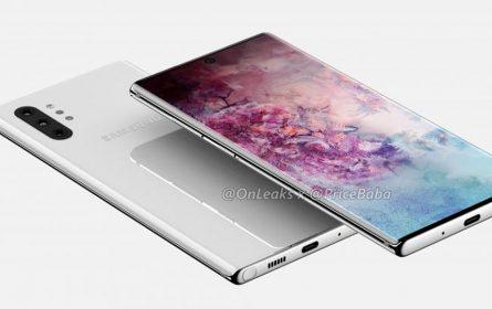 Samsung Galaxy Note 10 imati tri opcije za promjenljivi otvor blende