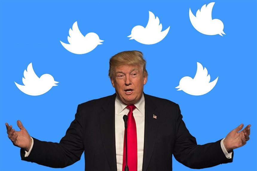 Twitter uvodi nova pravila za političare, Donald Tramp ilustracija