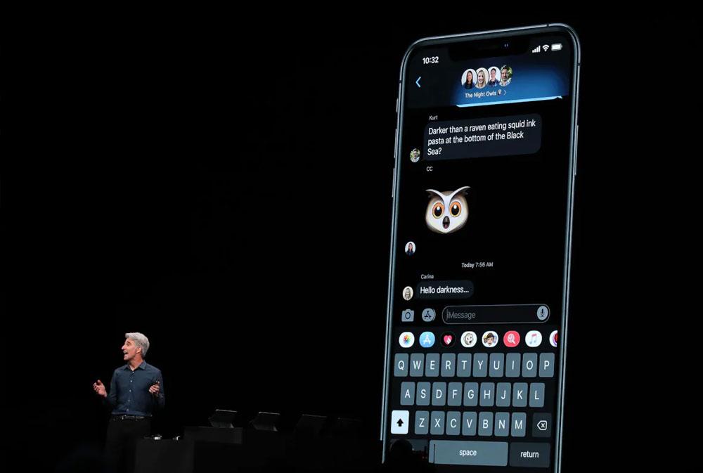 iOS 13 najavljen sa Dark Mode