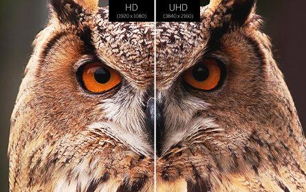 Sova u HD i UHD rezoluciji