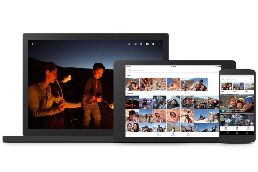 Aplikacija Google fotografije