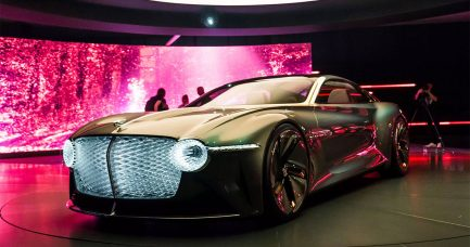 Bentley EXP 100 GT je električni, auto-konceptni automobil za ultra-luksuznu budućnost