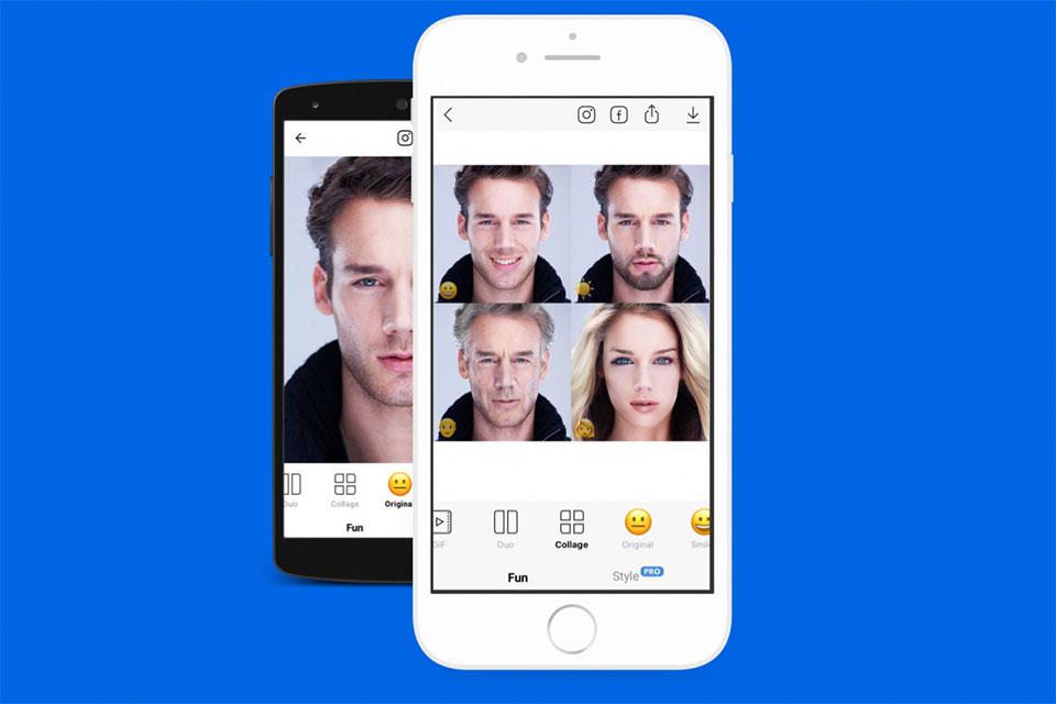 FaceApp aplikacija