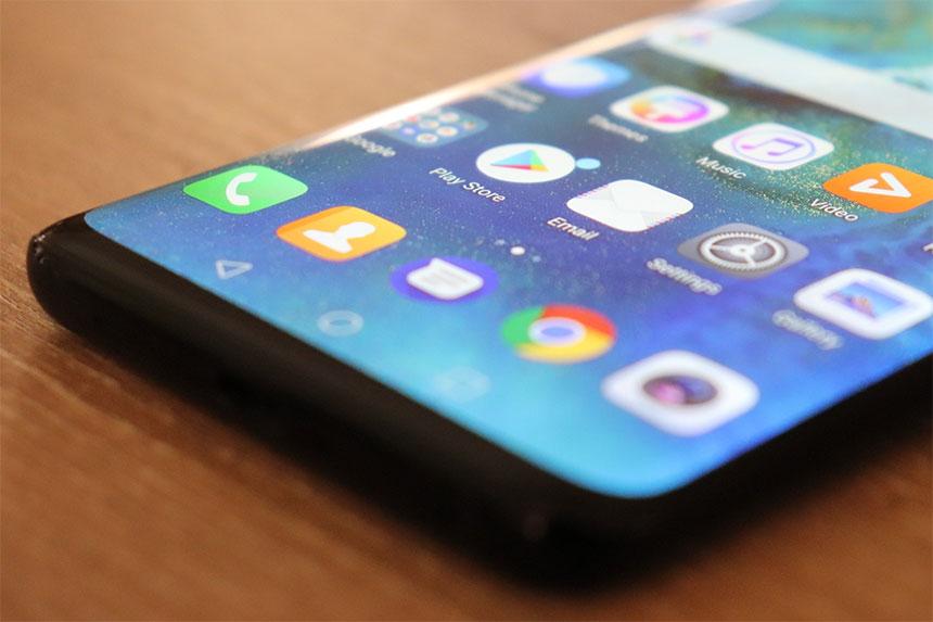 Huawei Android ilustracija