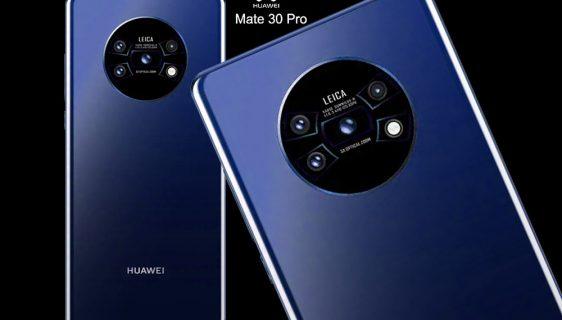 Huawei Mate 30 - Okrugli model sa četiri kamere i 5X optički zum