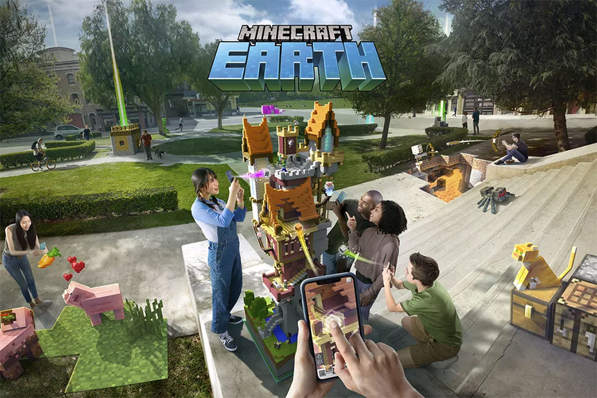 Igra Minecraft Earth