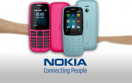 Nokia 220 4G pametni telefon i Nokia 105 (2019)