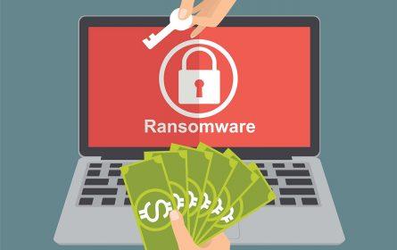 Ransomware ilustracija