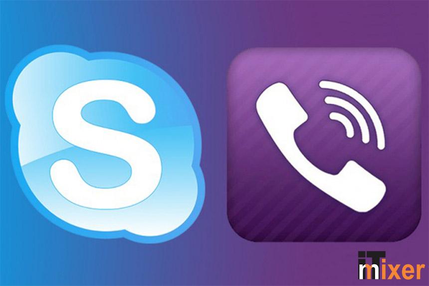 Skype Viber