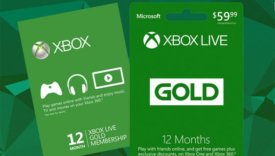 Xbox Live Gold igre