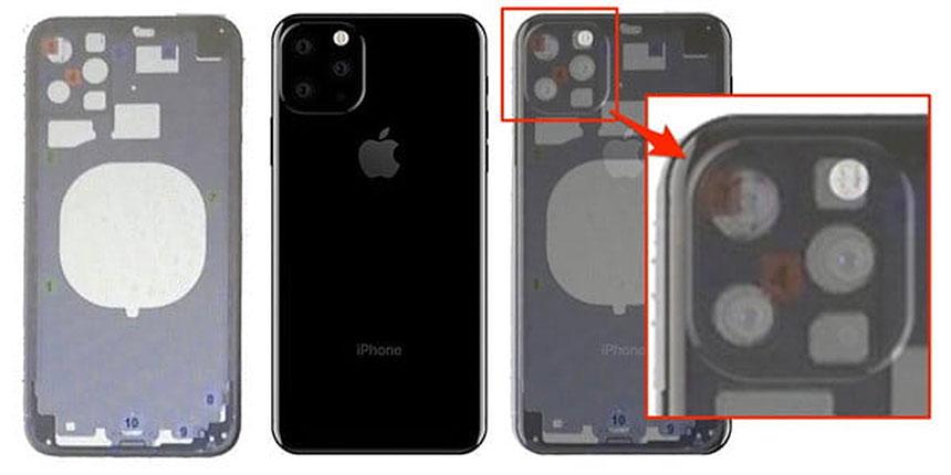 iPhone 11-izbočenje sa spoljašnje strane u obliku kvadrata