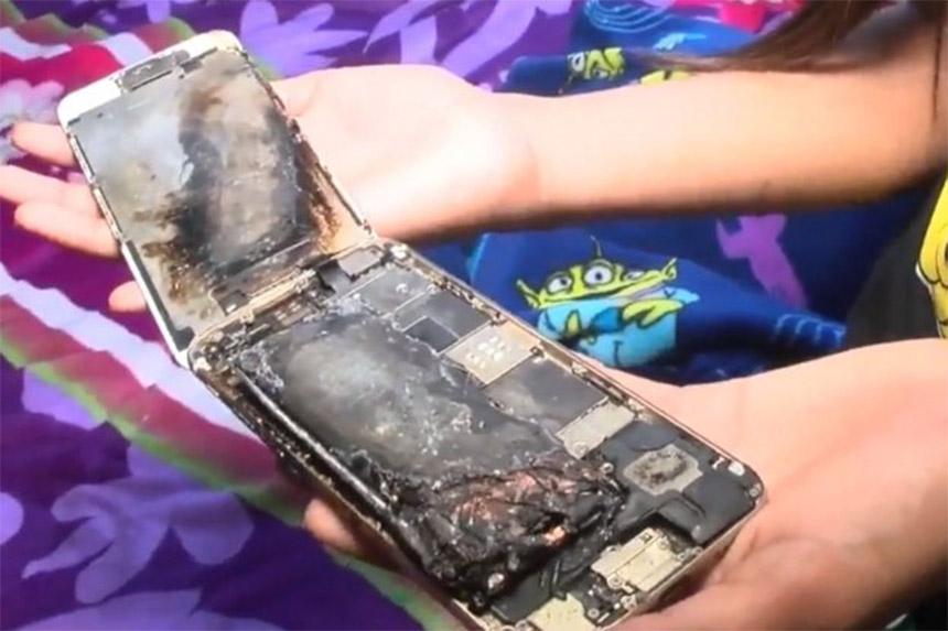 iPhone djevojčici eksplodirao u rukama