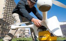 Švajcarska pošta dron za dostavu pošte