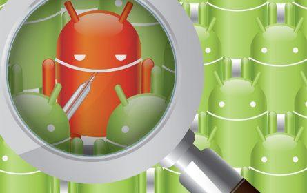 Android telefon malware ilustracija