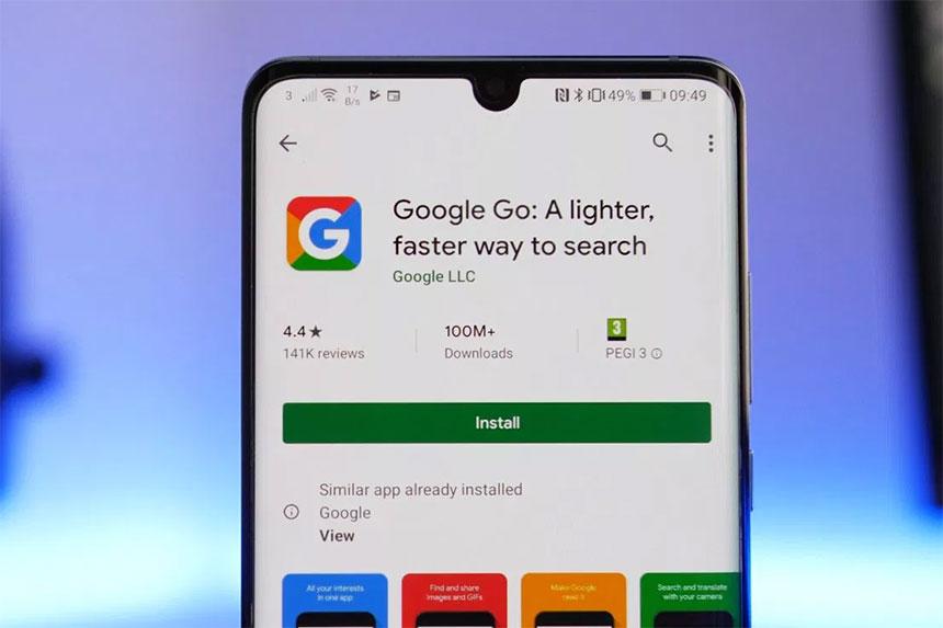 Google Go Lakša verzija Google pretraživača