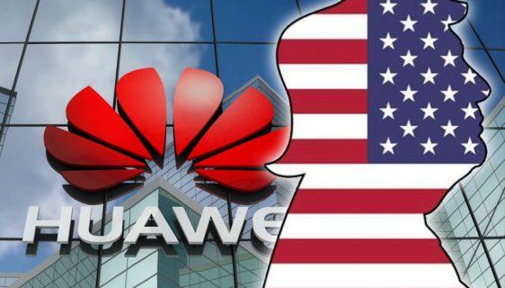 sankcije Huawei