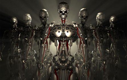 Roboti ubice - ilustracija