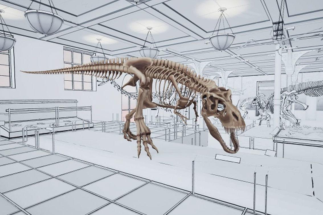 T. Rex: Skeleton Crew postao virtuelna stvarnost