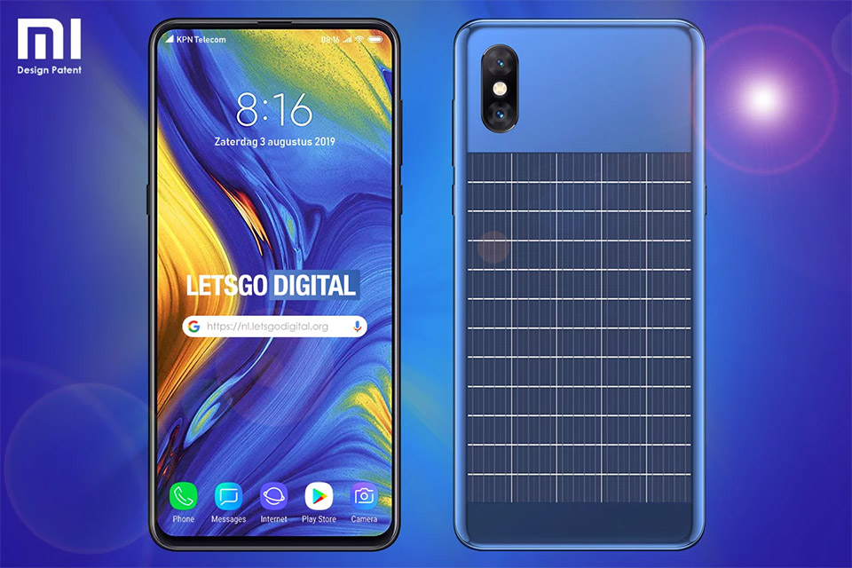 Xiaomi telefon sa integrisanim solarnim panelom
