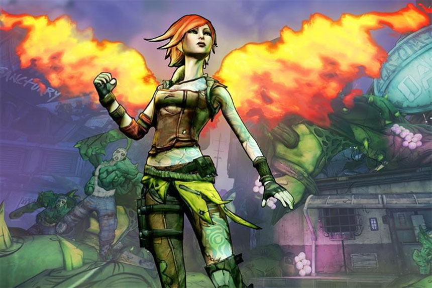 Borderlands 2 Commander Lilith DLC