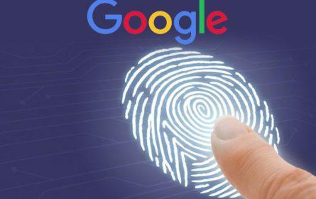 Google logovanje pomoću otiska prsta