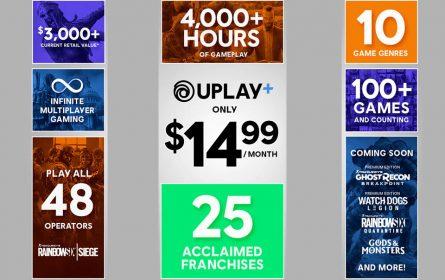 Ubisoftove igre Uplay+ servisa na pretplatu
