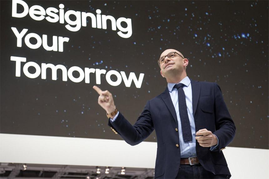 Benjamin Braun šef marketinga i zamjenik direktora Samsunga Europe na sajmu IFA 2019 u Berlinu