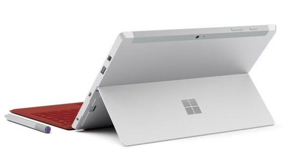 Microsoft Surface laptop (ilustracija)