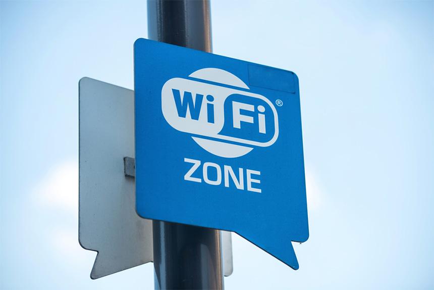 Wi-Fi zona