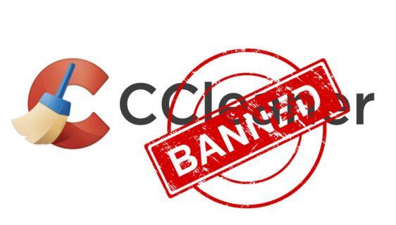 Microsoft banovao CCleaner