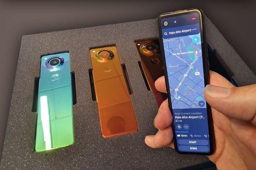 Essential smartfon u obliku daljinskog upravljača