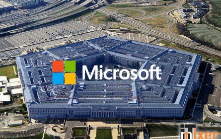 Ugovor Microsoft Pentagon (IT mixer / ilustracija)