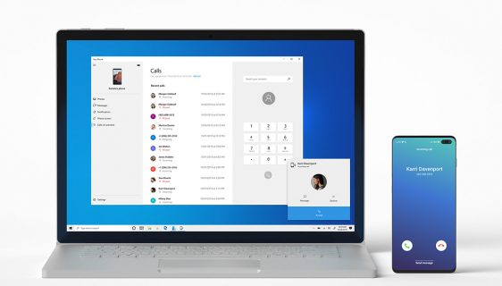 Windows aplikacija YourPhone za telefoniranje sa računara.jpg