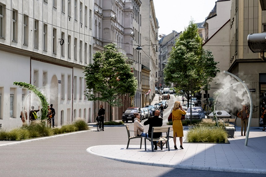 Beč će do kraja 2019. imati ulicu sa regulacijom temperature vazduha
