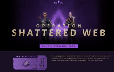 CS:GO operacija Shattered Web