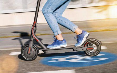 Električni skuter (ilustracija)