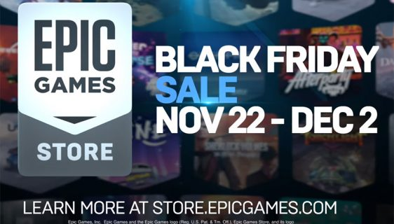 Epic Games Store Black Friday Rasprodaja igara (Foto: Epic Games store screenshot)