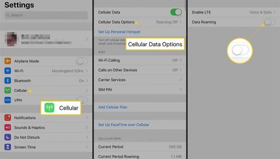 Kako ugasiti prenos podataka u roamingu na iPhone